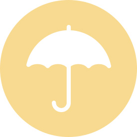 Animated umbrella icon