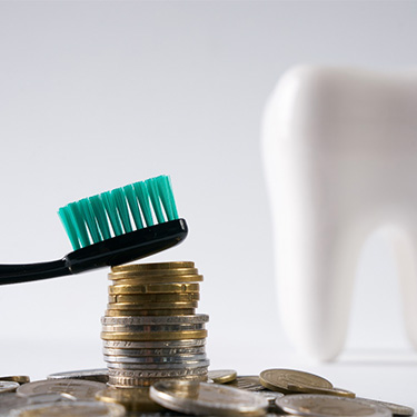 dental cost concept