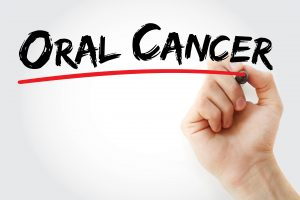 oral cancer underlined