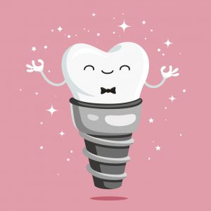 It's important to respect the healing process when getting dental implants in Waco.