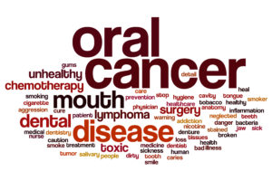 oral cancer red word cloud